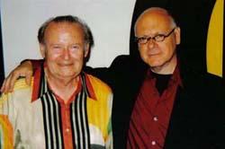 Gregorio with MADI Artist Volf Roitman